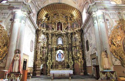 INAH restaura templo donde Benito Juárez contrajo matrimonio
