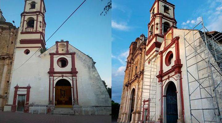 INAH restaura uno de los templos más antiguos de Guerrero