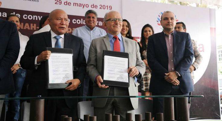 INAH y Tlalnepantla en alianza por patrimonio cultural del municipio