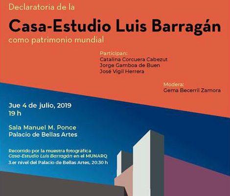 INBAL invita a la mesa de reflexión sobre Casa-Estudio Luis Barragán
