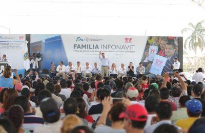 Gobierno de Tamaulipas e INFONAVIT superan meta de otorgar viviendas