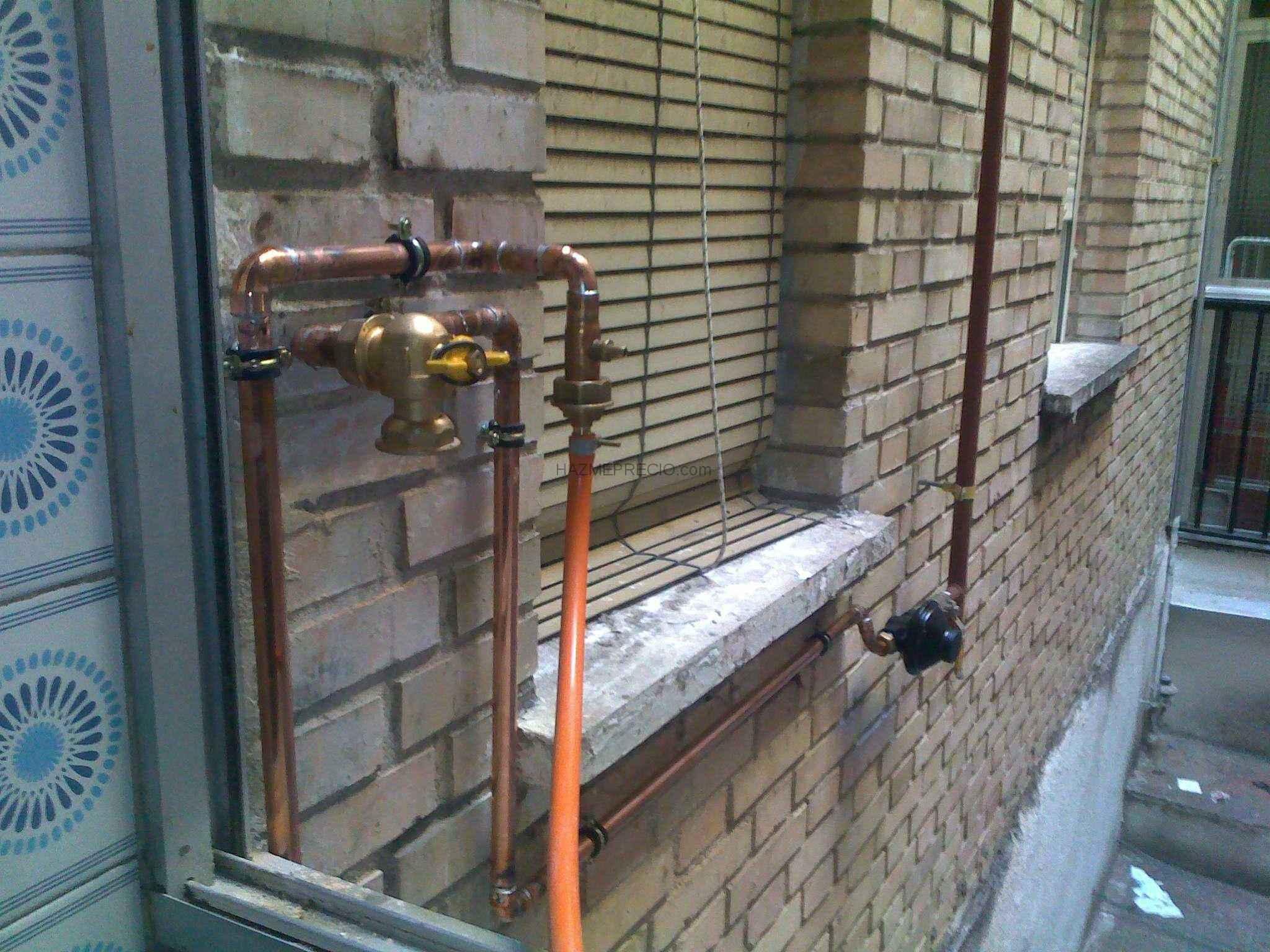 Instalacion gas natural vivienda instalacin individual - Instalacion calentador gas natural ...