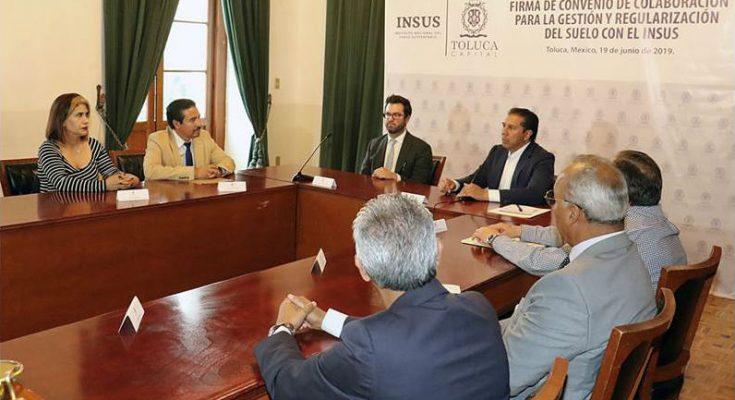 INSUS y Ayuntamiento de Toluca colaboran por desarrollo territorial