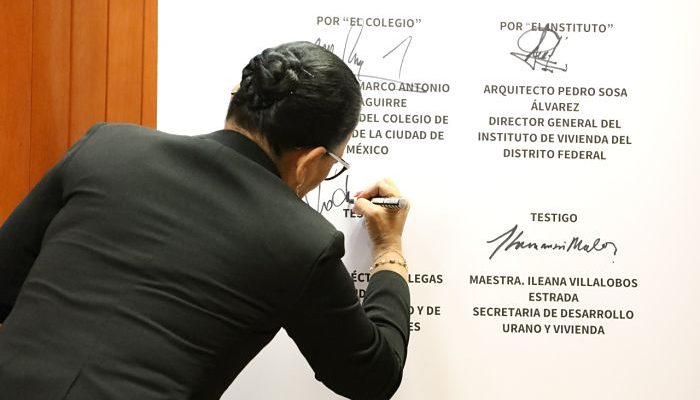 INVI y Colegio de Notarios firman convenio de colaboración