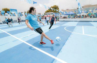 IPN y Manchester City FC rescatan espacio deportivo en Valle de Chalco
