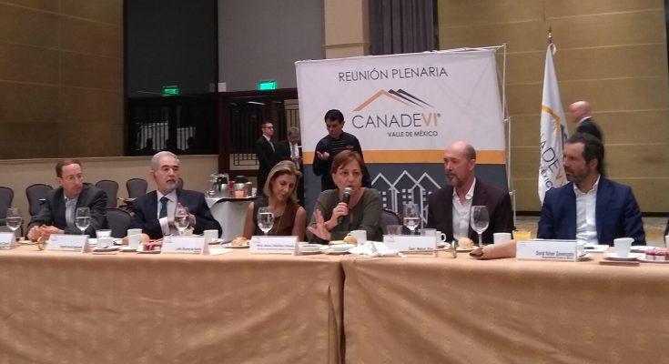 No hemos parado el desarrollo en CDMX: Ileana Villalobos