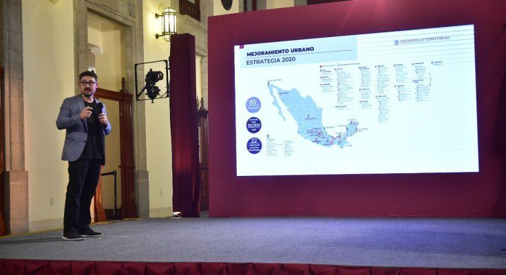 Impulsa Sedatu mejoramiento urbano de municipios aledaños al AIFA