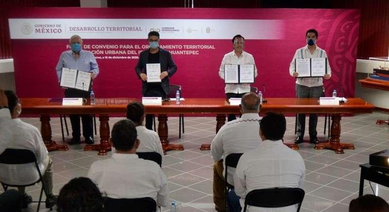 Impulsa Sedatu planeación urbana del Istmo de Tehuantepec