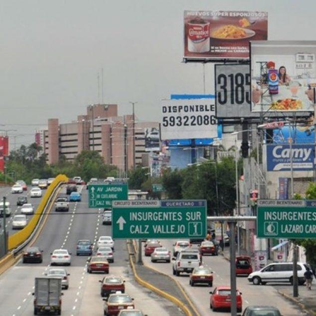 Impulsa Seduvi ordenamiento de la publicidad exterior en la CDMX