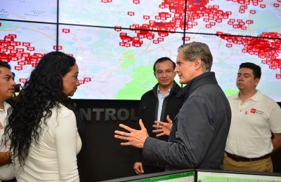 Inauguran Centro de Control y Gestión del Transporte en el Edomex