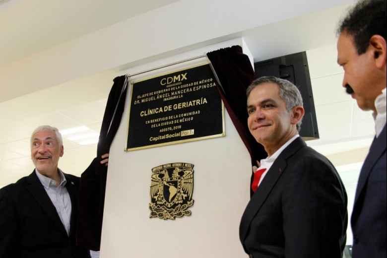 Inauguran Clínica de Geriatría en la delegación Iztacalco
