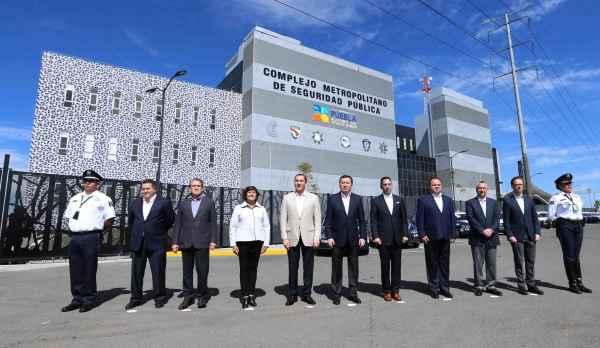 Inauguran Complejo Metropolitano de Seguridad Pública en Puebla
