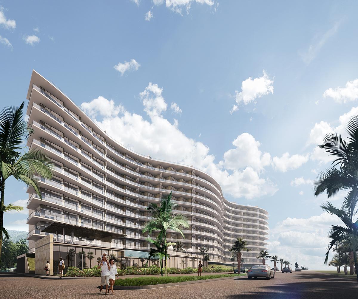 Inauguran el proyecto inmobiliario vertical 'Country Olas' en Campeche