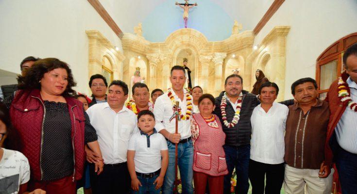 Inauguran en Oaxaca el retablo de la iglesia de Santo Domingo de Guzmán