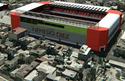 Inauguran estacionamiento del Estadio Nemesio Díez en Toluca