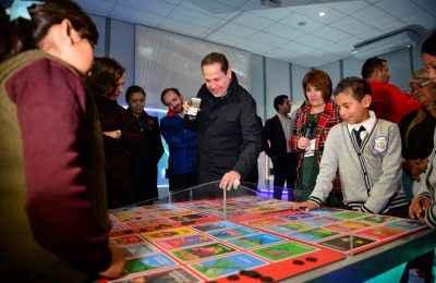 Inauguran museo interactivo en Ecatepec