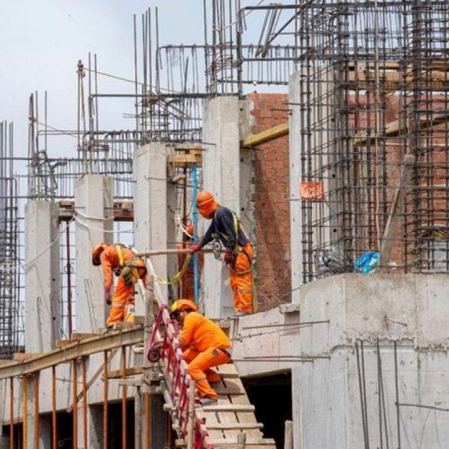 Industria de la construcción logra recuperación del 4.7%: Inegi