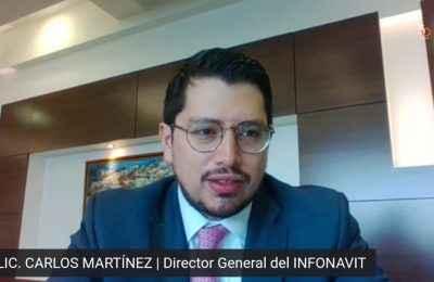 """Infonavit arranca en noviembre el esquema """"compre ahore y pague después""""-Carlos Martínez"""