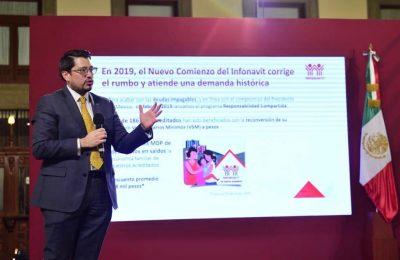 Infonavit presenta programa de reestructura de créditos 2020-Carlos Martínez