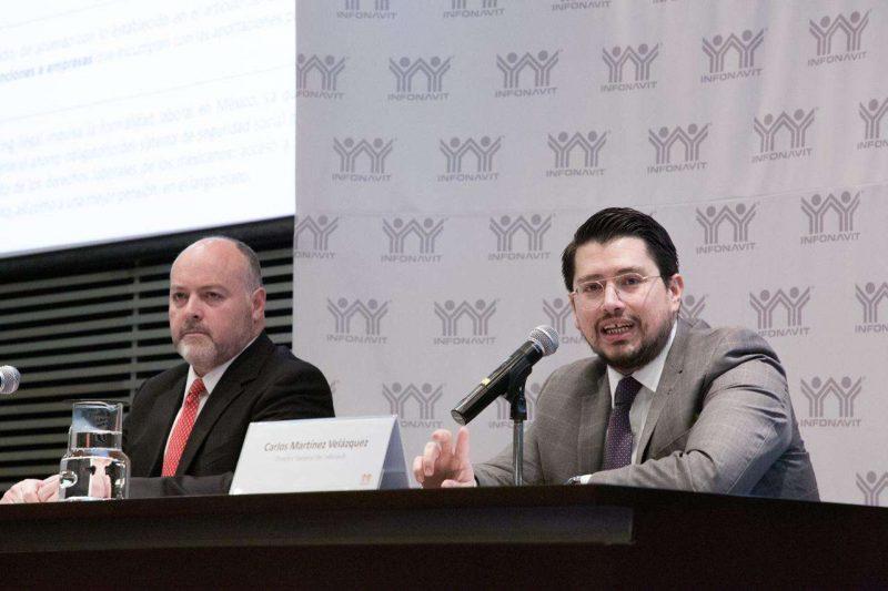 Infonavit ve con buenos ojos el fin de año-Rodrigo Gutiérrez Porter-Carlos MArtínez