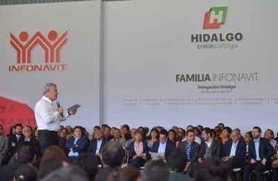 Prevé Infonavit derrama de 5 mmdp en Hidalgo