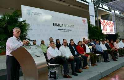 Infonavit va por derrama de 4 mmdp en Aguascalientes
