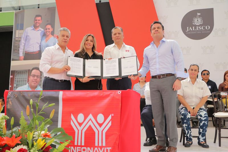 Infonavit rompe récord de colocación de crédito en Jalisco