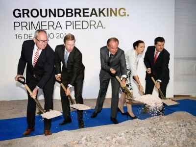 Inicia construcción de planta BMW en San Luis Potosí