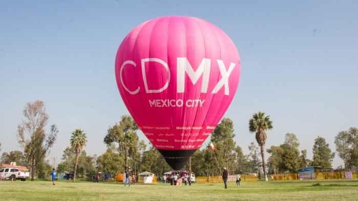 Globo CDMX inicia su recorrido por la capital del país