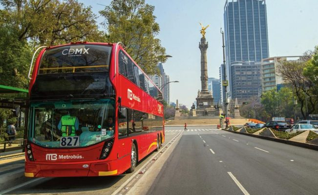 GCDMX promueve movilidad sustentable con nuevas unidades de Metrobús