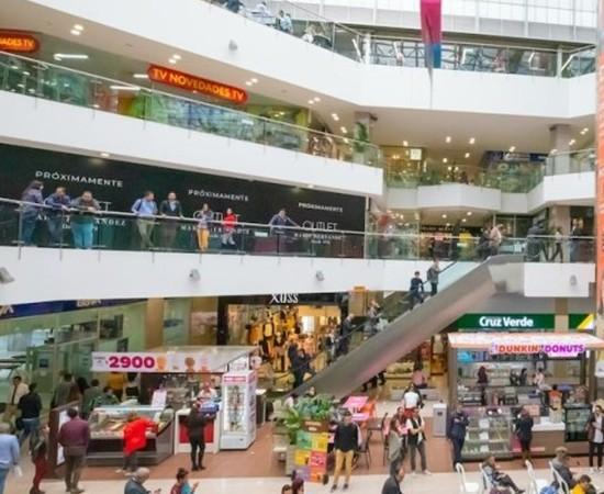 Inventario de centros comerciales supera 800 inmuebles al 1S2021