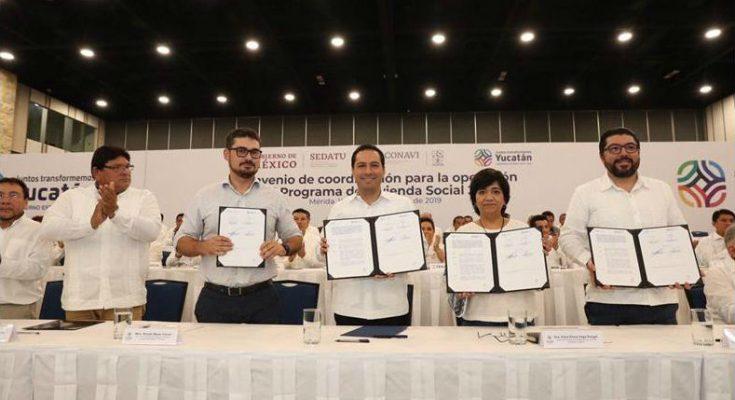 Invertirán 900 millones para Programa de Vivienda Social en Yucatán