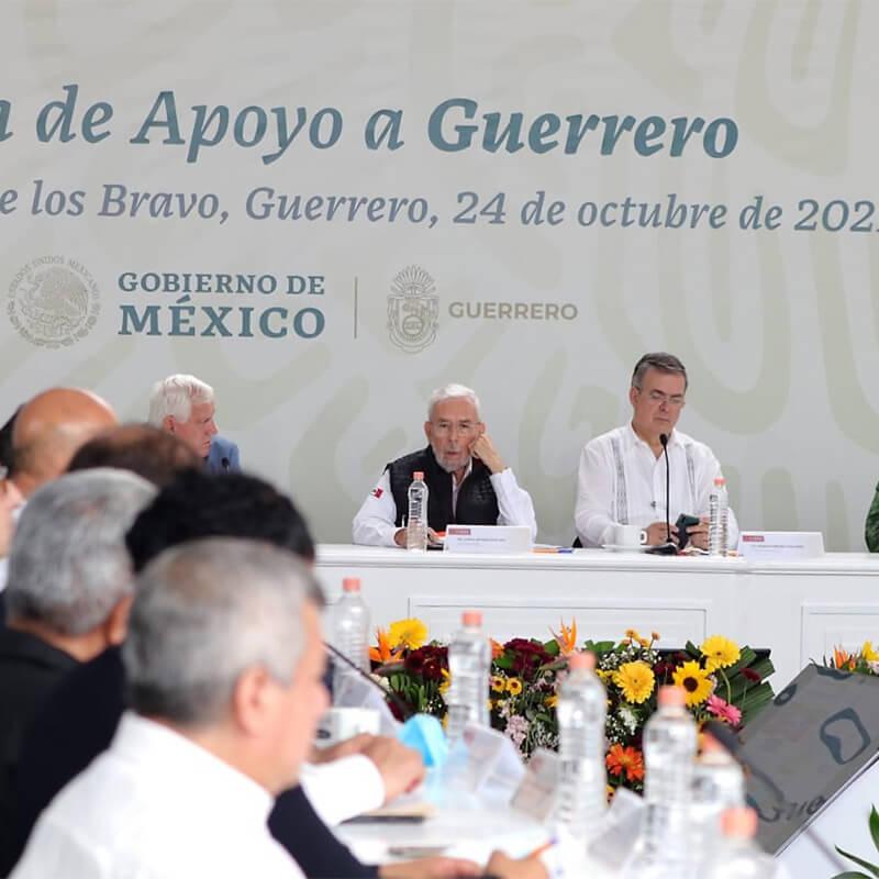Invertirán más de 5,000 mdp en infraestructura carretera para Guerrero - SCT - Jorge Arganis Díaz