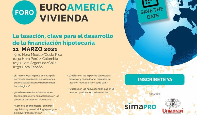 Invita Uniapravi al primer Foro Euro América Vivienda
