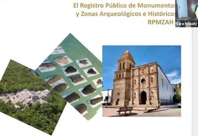 Invitan a inscribir patrimonio arquitectónico en el Registro Público