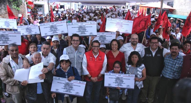 Invirtió Fonhapo 16 mdp en Veracruz