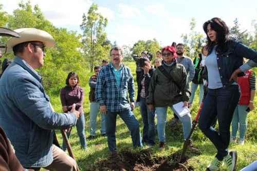 Iztapalapa alista plan de reforestación  para el Cerro de la Estrella