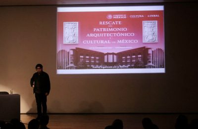 José Moyao destaca su labor en el rescate del patrimonio arquitectónico