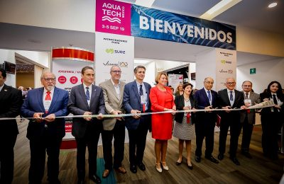 Inauguran The Green Expo, Congreso Conieco, Aquatech e Intersolar México