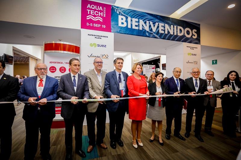 Inauguran The Green Expo, Congreso Conieco, Aquatech e Intersolar México