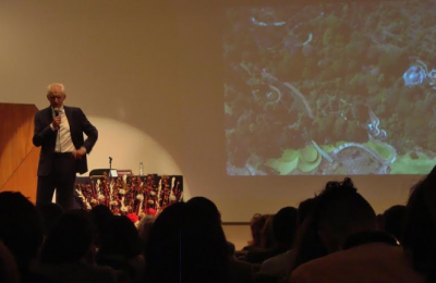Javier Senosiain explica la relación arquitectura-naturaleza en su obra
