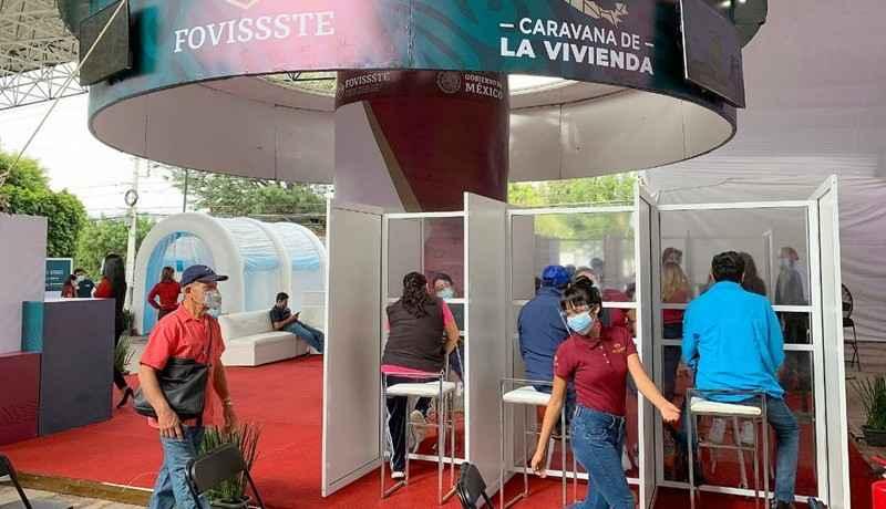 La Caravana de la Vivienda de Fovissste llega a Querétaro