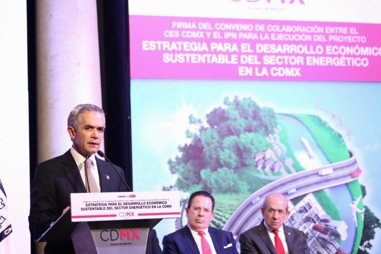 El GCDMX y el IPN forman alianza contra cambio climático