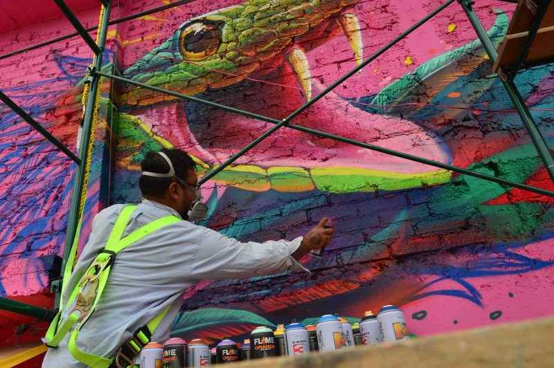 Ecatepec lanza proyecto de arte urbano #LaCalleEsTuya