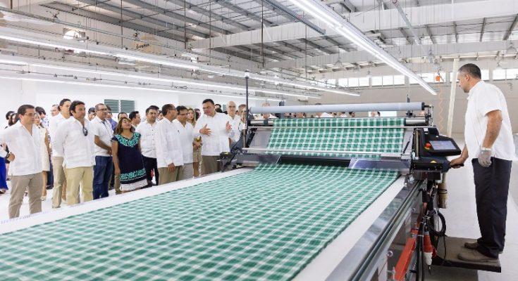Crean laboratorio textil en Yucatán