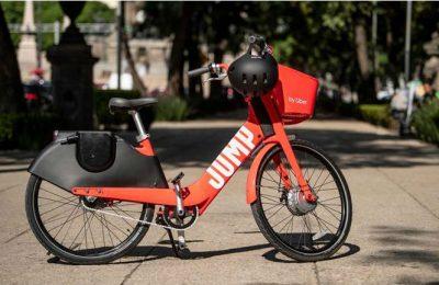 Las bicicletas eléctricas de Uber llegan a la CDMX