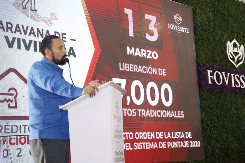 Liberó Fovissste-7,000 créditos-marzo