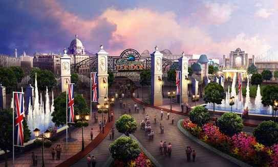 Londres prevé un nuevo parque de diversiones de Paramount