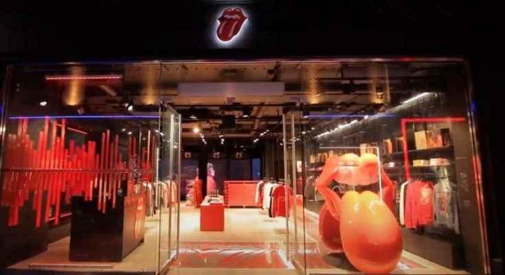 Los Rolling Stones abren su primera tienda en Soho, Londres