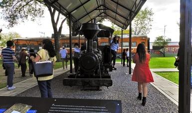 A 140 años de su llegada, exhiben 'Les ferrocarriles portátiles Decauville'